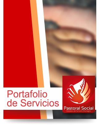 Portafolio de Servicios - Pastoral Social